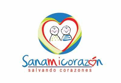 Refresh de logotipo para fundación Sana Mi corazón